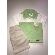 Conjunto Camisa+Bermuda Baby