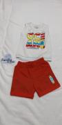 Conjunto verão masculino Oceano - Hrradinhos