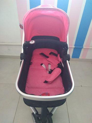Carrinho De Bebê Attractive - Rosa