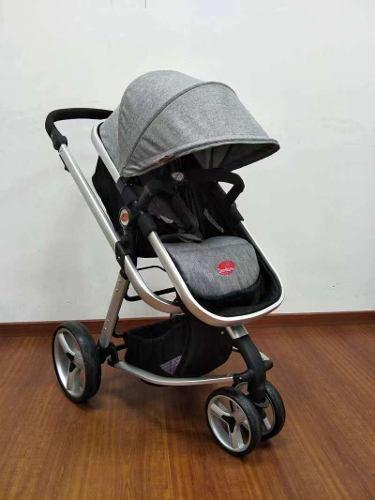 Carrinho De Bebê Attractive - Cinza