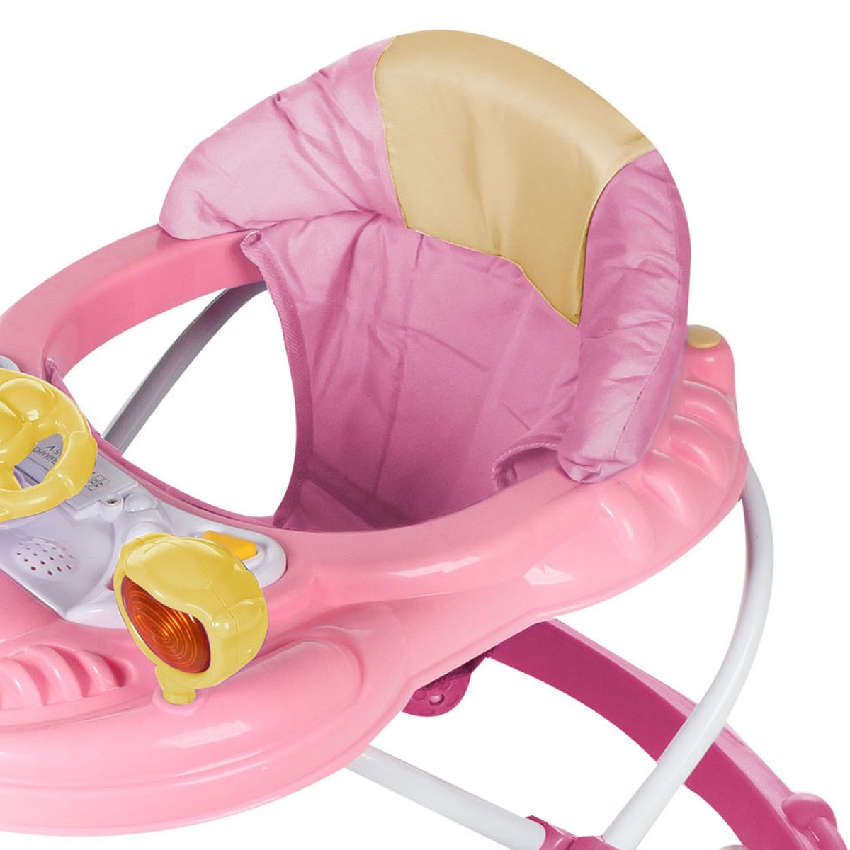 Andador Infantil para Bebê Rosa - Dardara