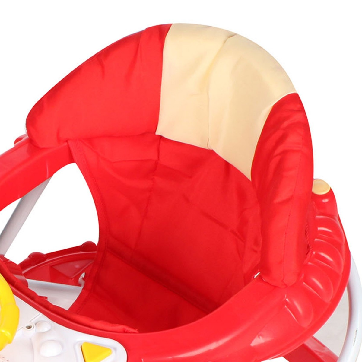 Andador Infantil para Bebê Carrinho Vermelho Dardara