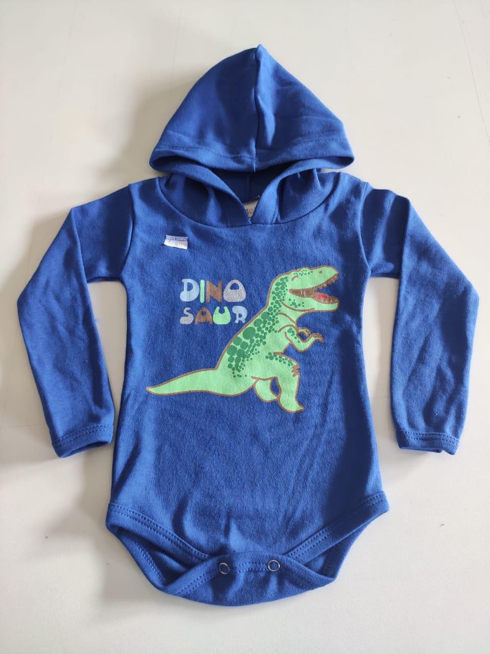 Body com Capuz Dino M/L