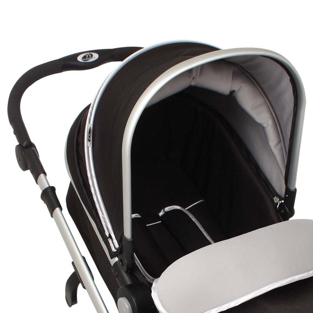 Carrinho de Bebê Absoluto Preto Dardara