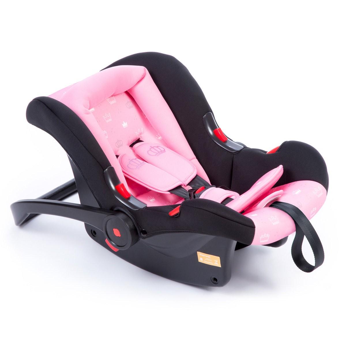 Carrinho de Bebê Com Bebê Conforto Nexus Rosa Cosco