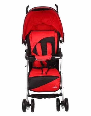 Carrinho de Bebê para Passeio Umbrella Pass Vermelho Dardara