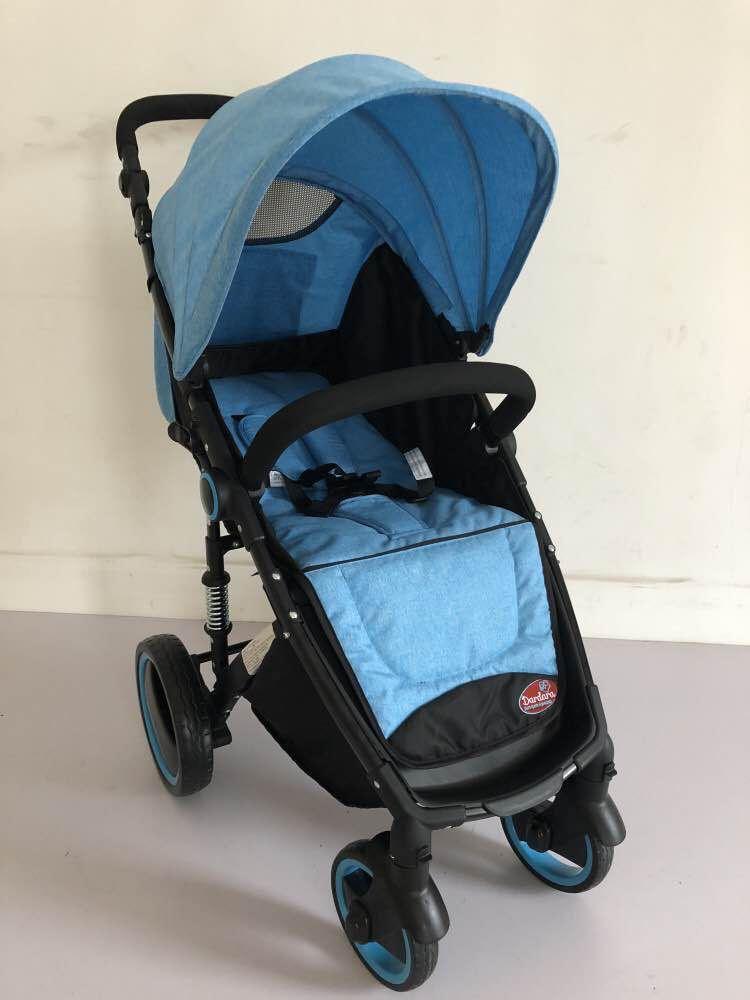 Carrinho de Bebê Week Dardara - Azul