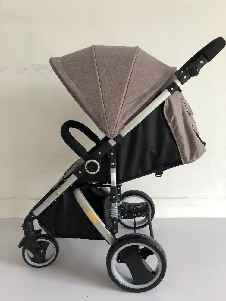 Carrinho de Bebê Week Dardara - Marrom