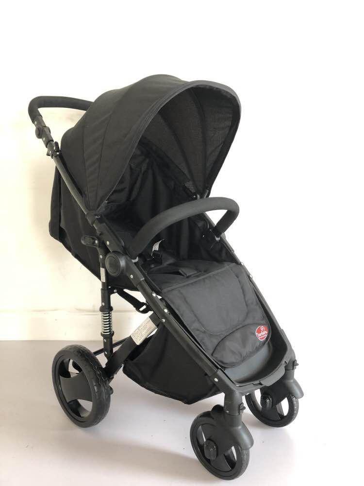 Carrinho de Bebê Week Dardara - Preto