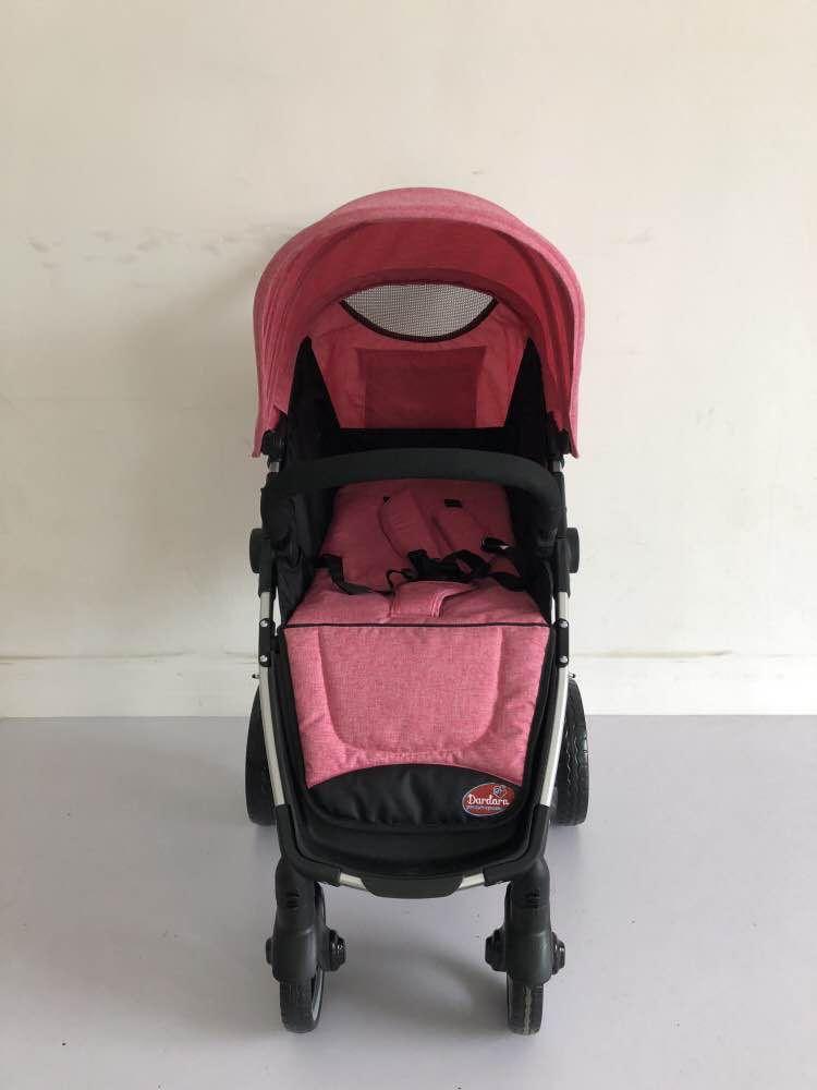 Carrinho de Bebê Week Dardara - Rosa
