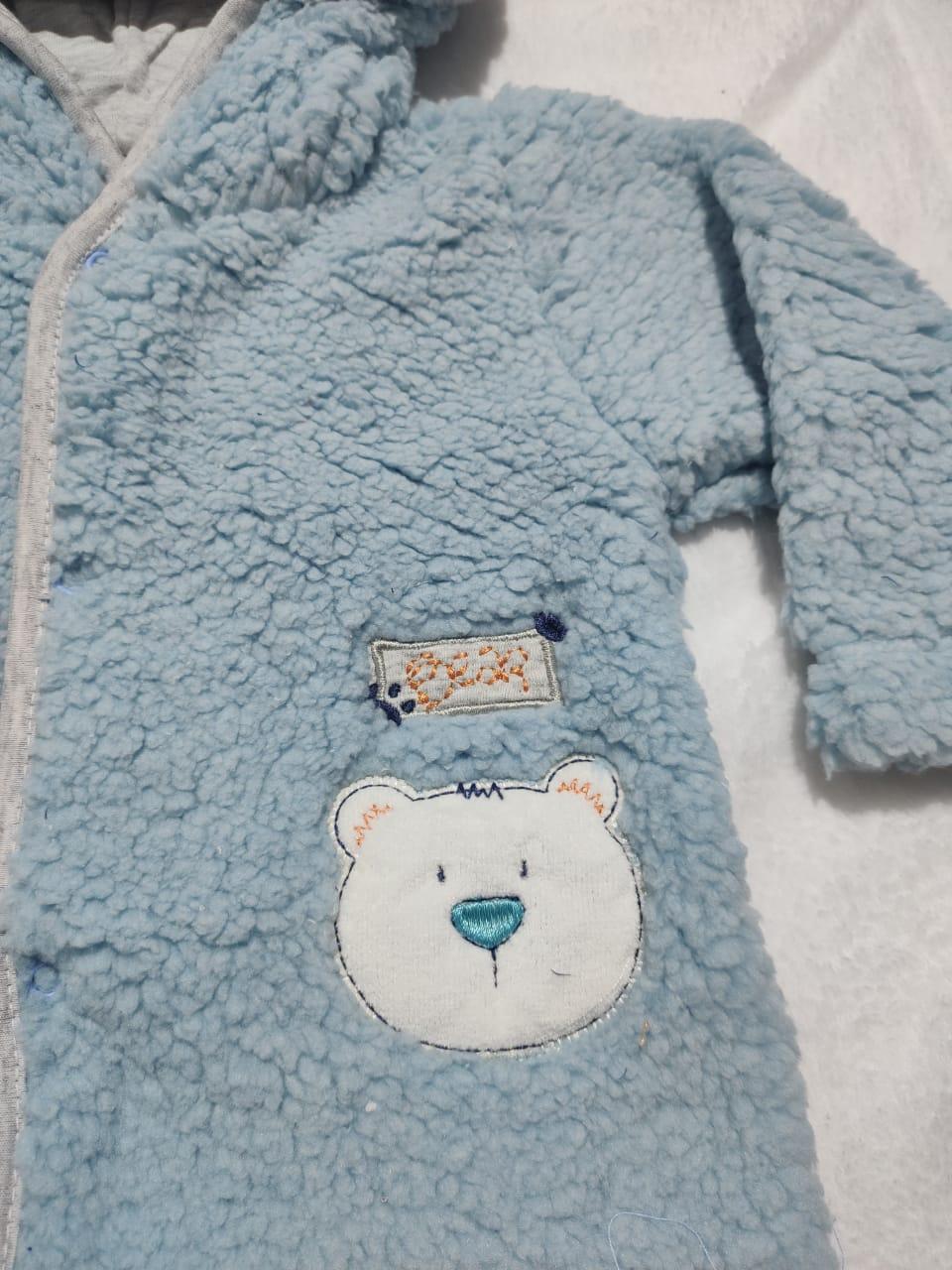 Casaco de Pelúcia Bear - And's Baby