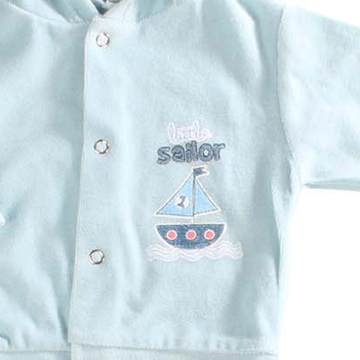 Conjunto Infantil de Plush Azul Bebê Dardara