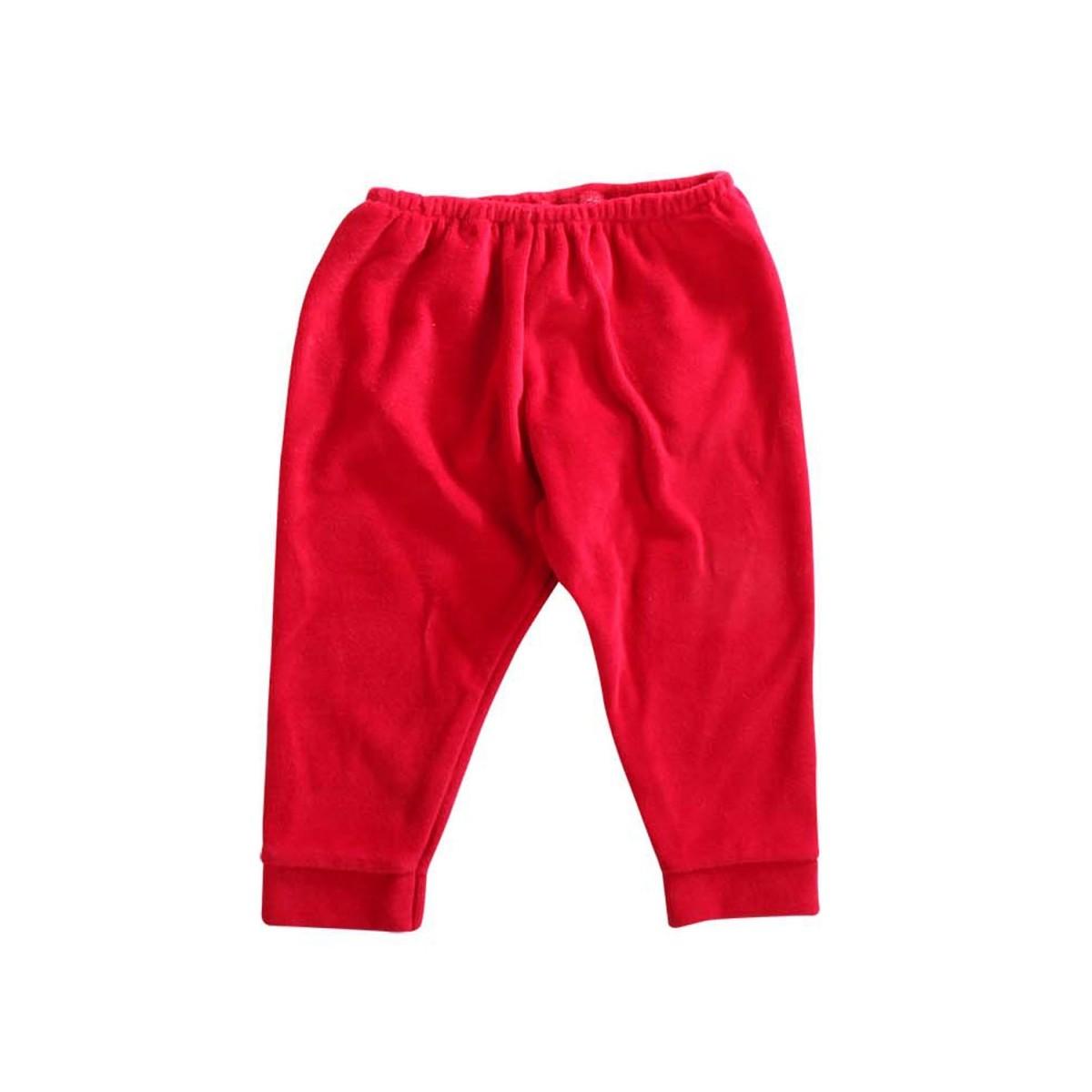 Conjunto Infantil de Plush Vermelho Dardara