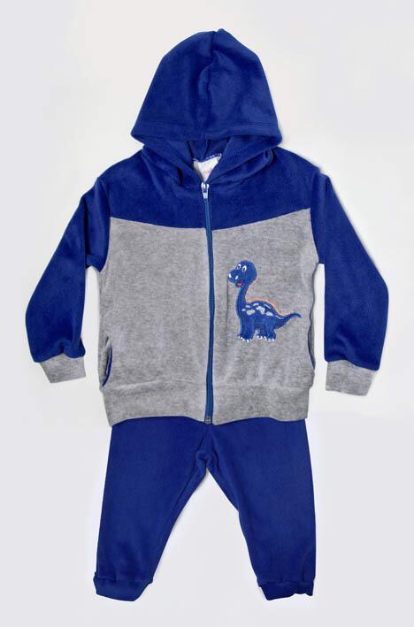 Conjunto Plush Infantil Dino