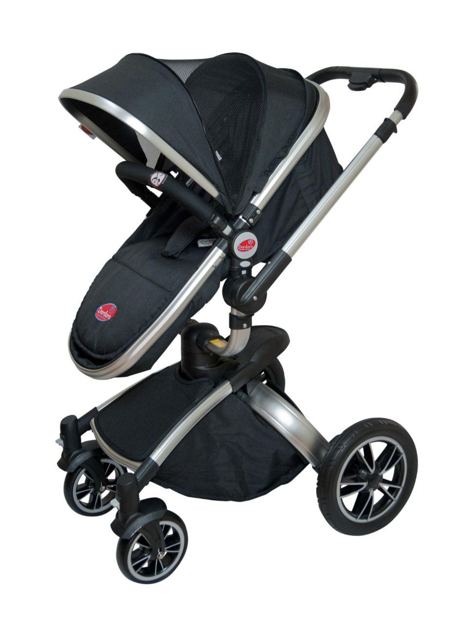 Carrinho de Bebê Giro 360º - Dardara