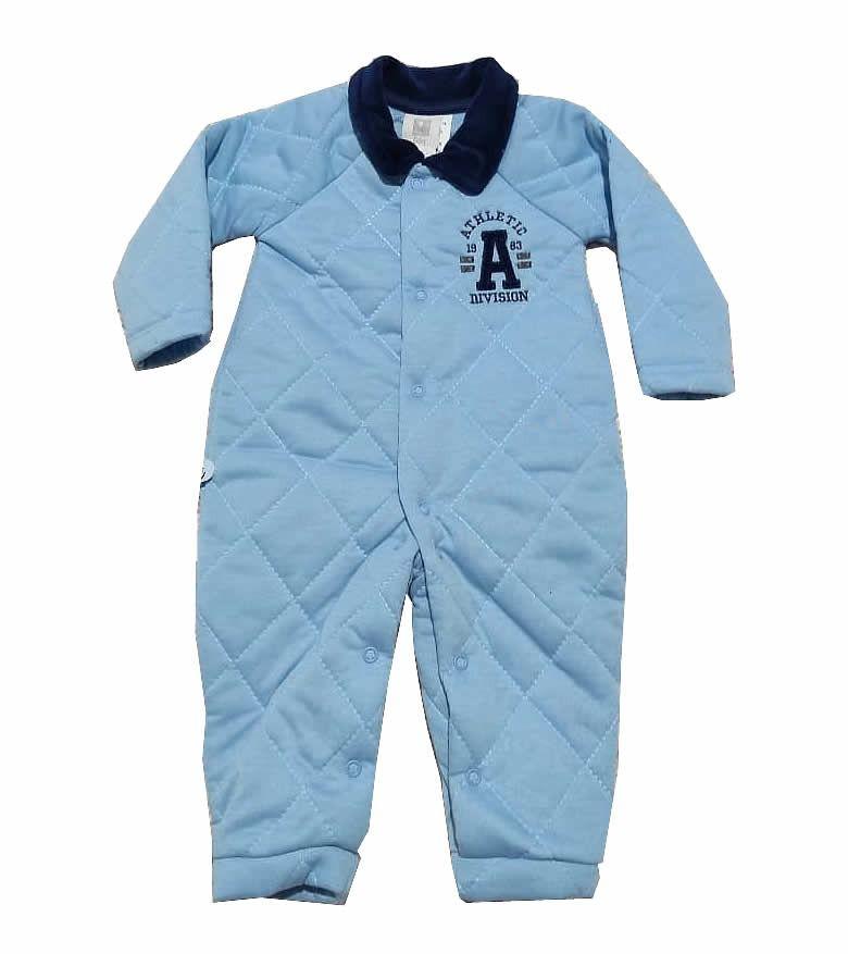 Macacão Acolchoado Athletic - And's Baby
