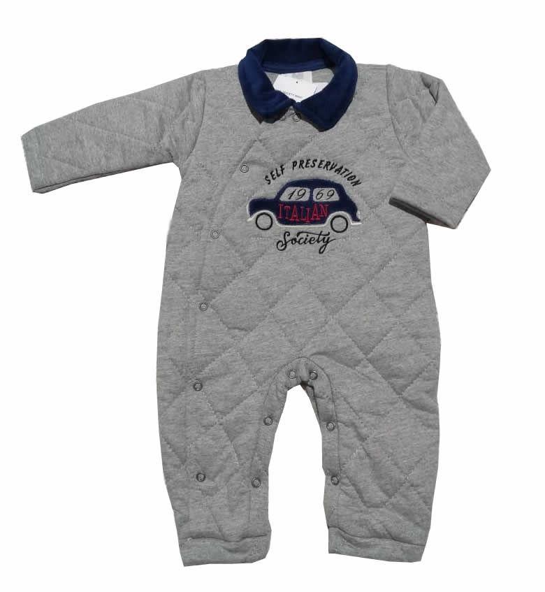 Macacão Acolchoado Society - And´S Baby
