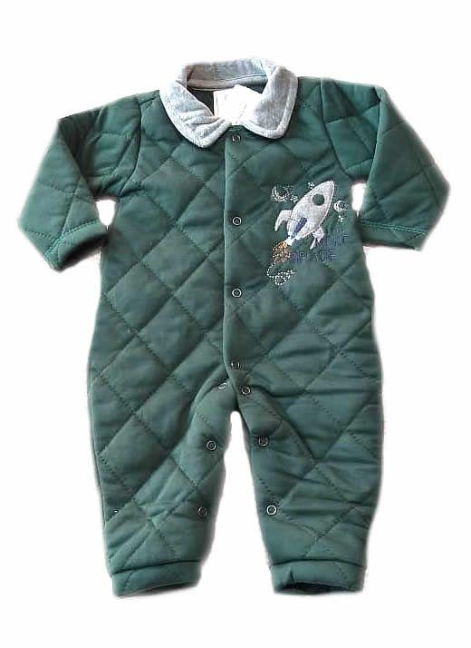 Macacão Acolchoado Space - And's Baby
