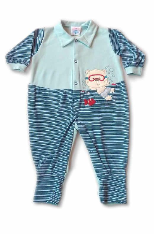 Macacão de Malha Aquaurso - Tatá Baby