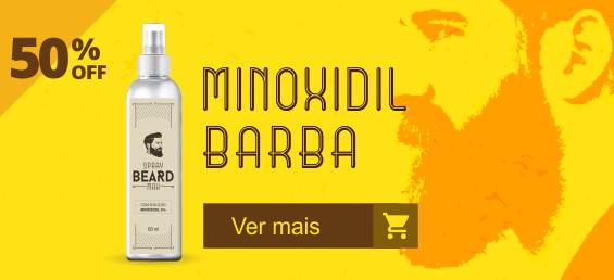 Minoxidil para barba 50% OFF  Menor preço
