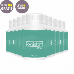 Emagrecedor Orlistat 120mg | Combo 10