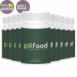 Pill Food | 60 cápsulas | Combo 10 unidades
