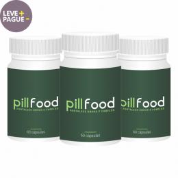 Pill Food | 60 cápsulas | Combo 03 unidades