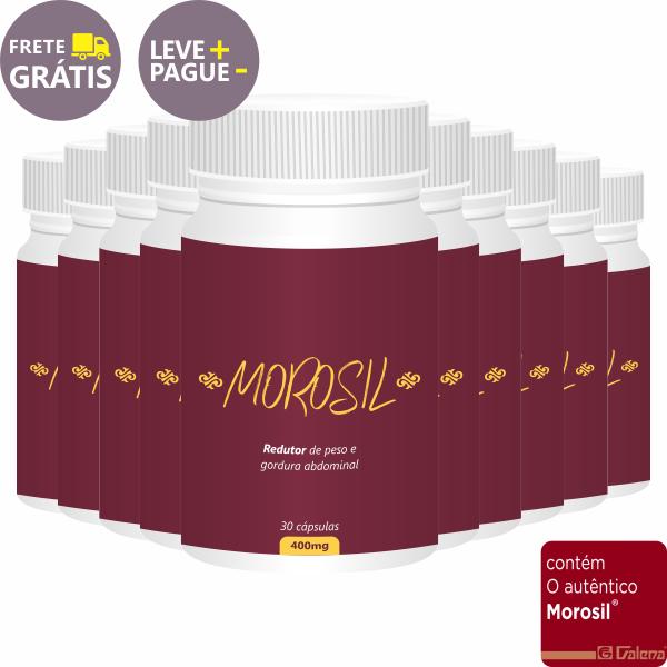 Combo Morosil 400mg | 30 cápsulas | 10 unidades