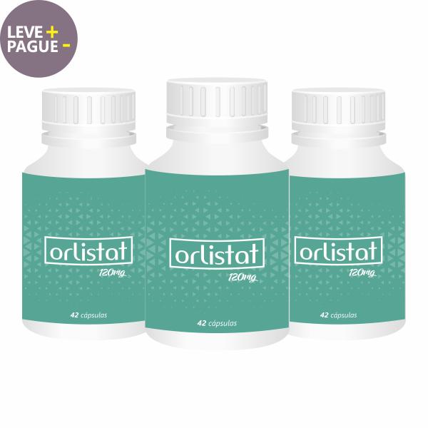 Emagrecedor Orlistat 120mg | Combo 03  - Vitalle Farmácia de Manipulação