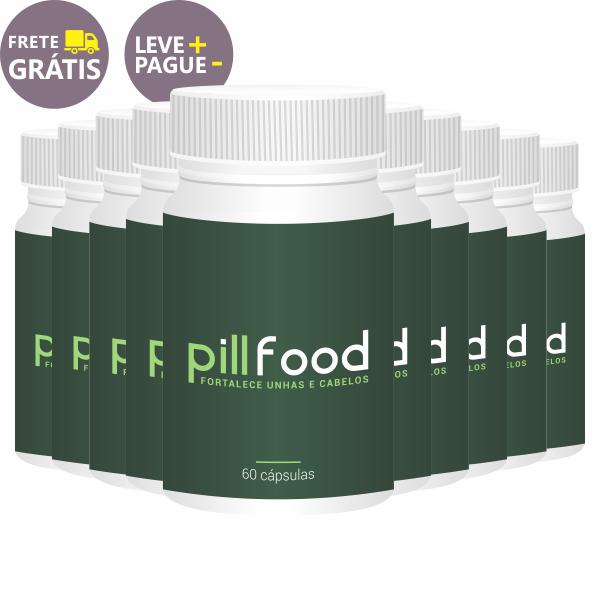 Pill Food | 60 cápsulas | Combo 10 unidades  - Vitalle Farmácia de Manipulação