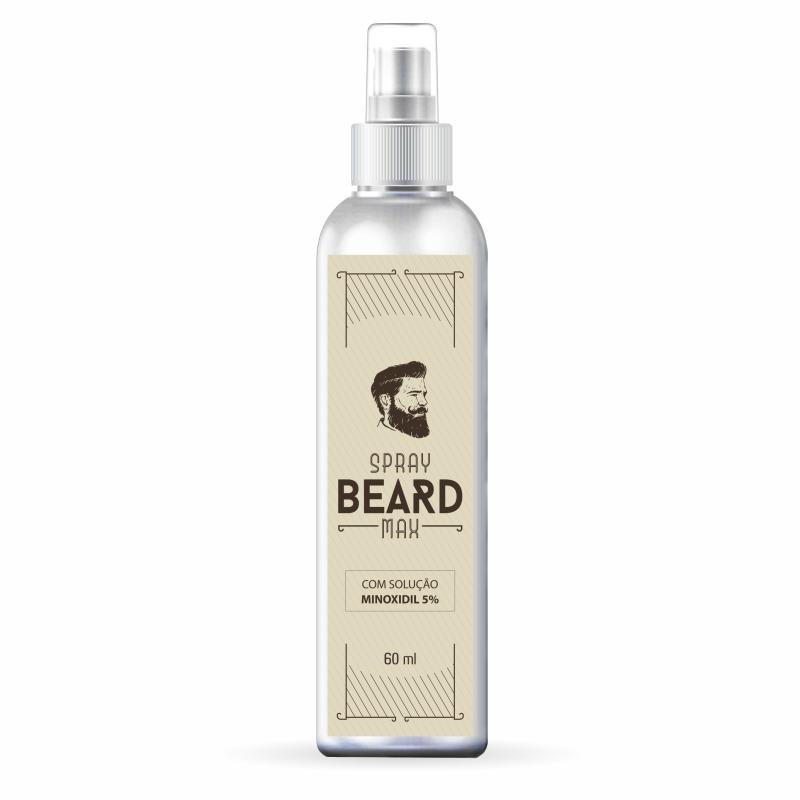 Minoxidil para barba Solução 5% SPRAY | 60ml