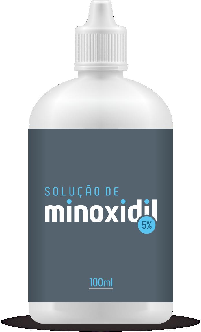 Minoxidil para Cabelo Solução 5% | 100ml
