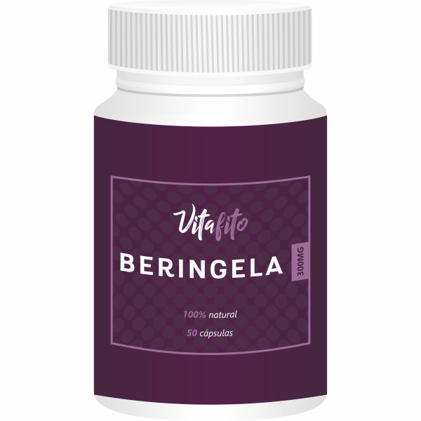 VitaFito Beringela | 300mg | 50 cápsulas  - Vitalle Farmácia de Manipulação