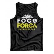 Camiseta - Foco & Força - Preta