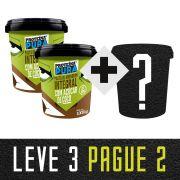 Leve 3 Pague 2 - 2 Pasta com Açúcar de Coco + 1 Escolha seu sabor