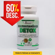 Multivitamínico Detox - 30 Caps