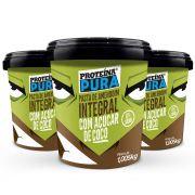 Proteína Pura - Combo Pasta de Amendoim com Açúcar de Coco - 3 unidades
