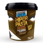 Proteína Pura - Hiper Pasta de Amendoim Granulado com 40% Albumina sabor Chocolate - 1Kg