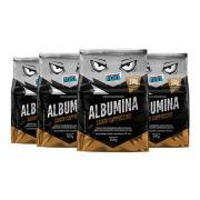 Proteína Pura - Kit Albumina Cappuccino - (4 un x 500gr)
