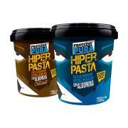 Proteína Pura - Kit Pasta de Amendoim Granulada com Albumina - Natural e Chocolate - (2 un x 1000gr)