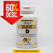 Vitamina D - 30 Caps