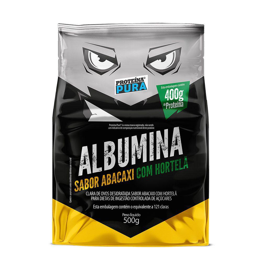 Albumina - Abacaxi Com Hortelã 500g - Proteína Pura