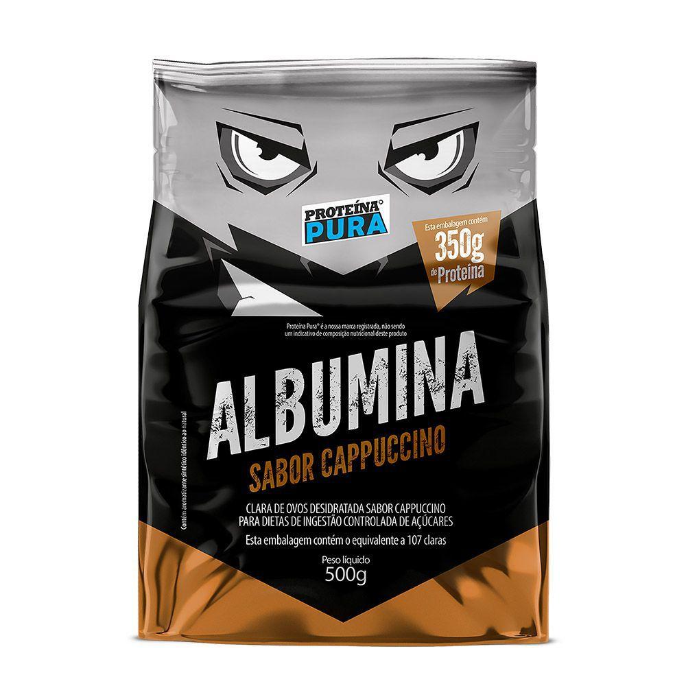 Albumina - Cappuccino 500g - Proteína Pura