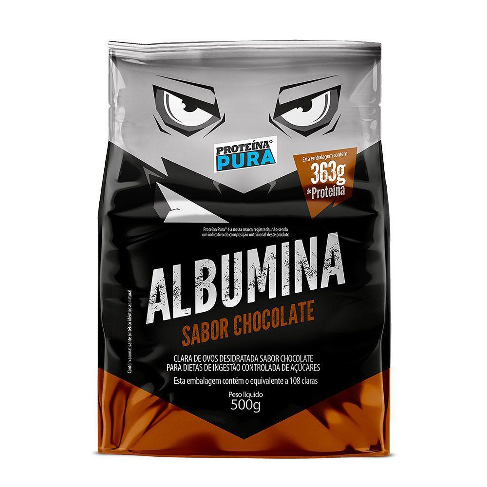 Albumina - Chocolate 500g - Proteína Pura