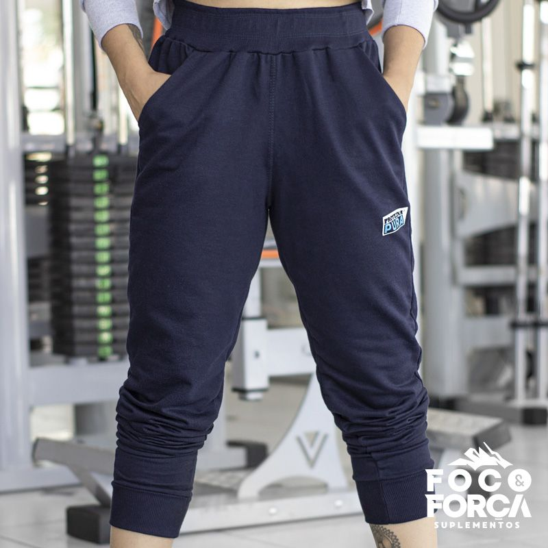 Calça Jogging Moletom Feminina
