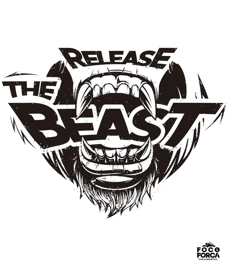 Camiseta - Release the Beast - Branca