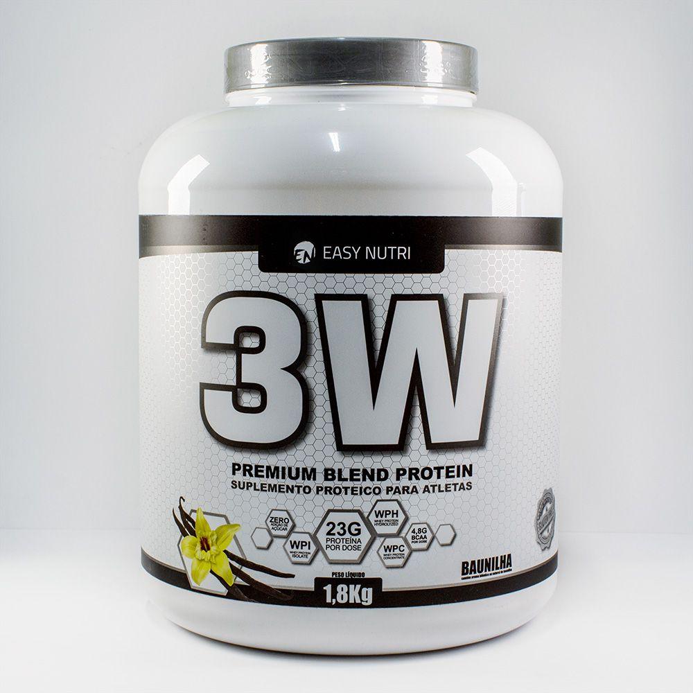 Easy Nutri 3W Premium Blend- Baunilha- 1.8 Kg