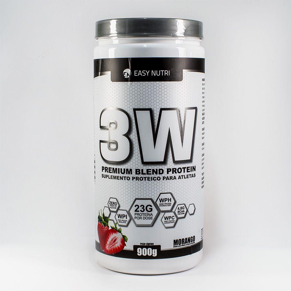 Easy Nutri 3W Premium Blend- Morango- 900g