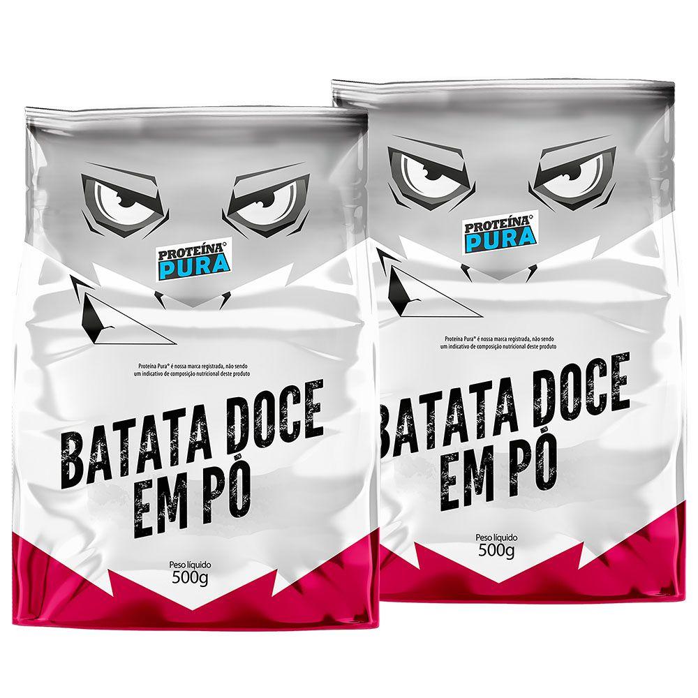 Kit Batata Doce - (2 un x 500g) - Proteína Pura