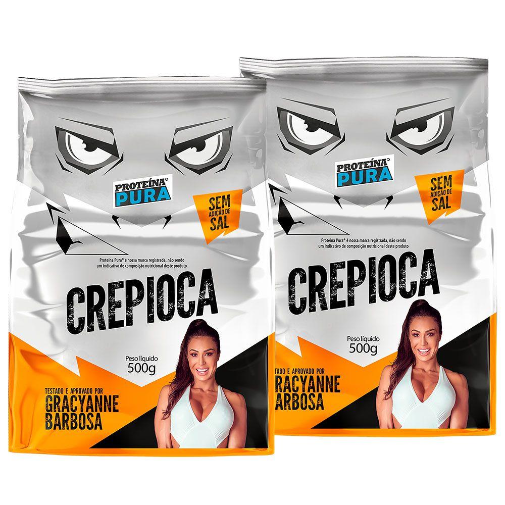 Kit Crepioca Gracyanne Barbosa - (2 un x 500g)
